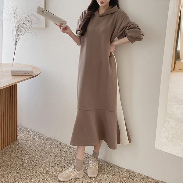 011 슬림머메이드롱원피스 DGRC065 도매 배송대행 미시옷 임부복