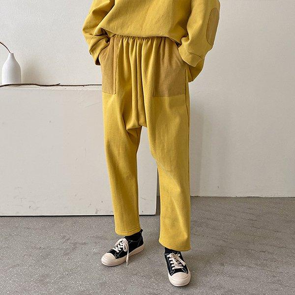012 빈티지배색배기핏팬츠 DKBC307 도매 배송대행 미시옷 임부복