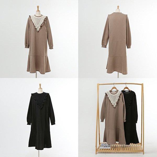 012 엔틱브이프릴롱원피스 DWBC325 도매 배송대행 미시옷 임부복