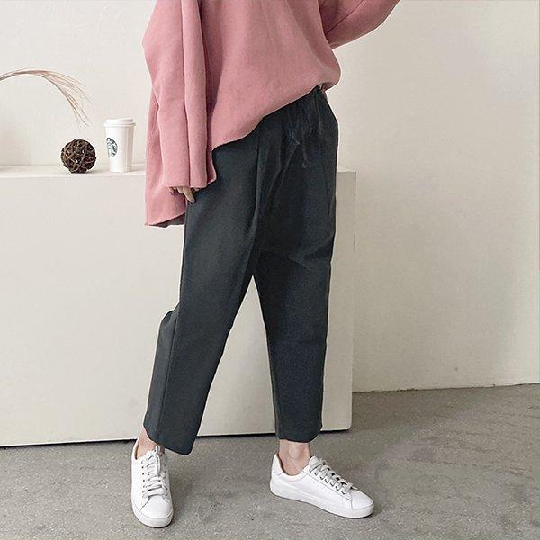 001 내추럴라인배기핏팬츠 DKBC329 도매 배송대행 미시옷 임부복