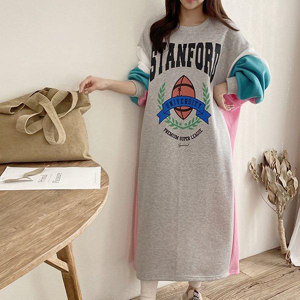 001 럭키와이드오버원피스 DKBC333 도매 배송대행 미시옷 임부복