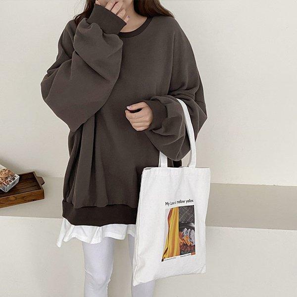 012 트렌디레이어드맨투맨 DKBC336 도매 배송대행 미시옷 임부복