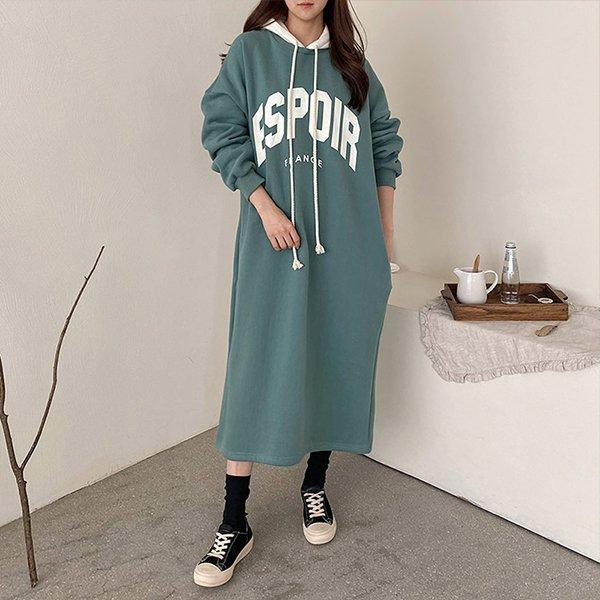 012 프랑스빅후드롱원피스 DKBC339 도매 배송대행 미시옷 임부복