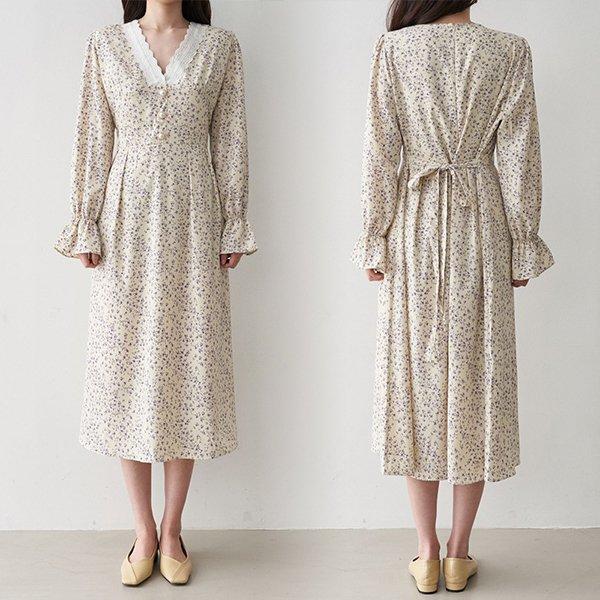 102 퍼플쉬폰레이스원피스 DBNC754 도매 배송대행 미시옷 임부복