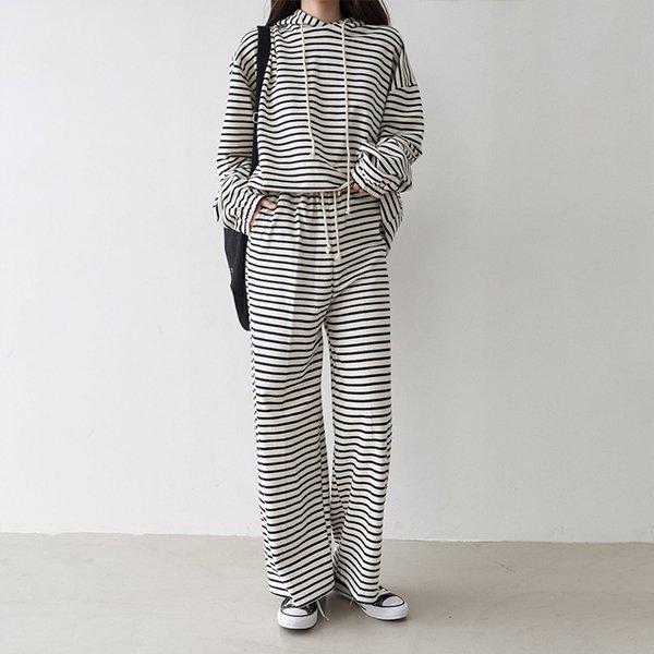 102 단가라오버핏후드세트 DBNC755 도매 배송대행 미시옷 임부복