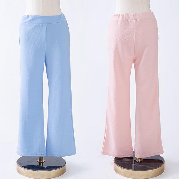 104 무지롱밴딩스판부츠컷 DCME065 도매 배송대행 미시옷 임부복