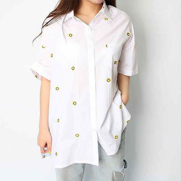 104 포테이토카라반팔셔츠 DHGE121 도매 배송대행 미시옷 임부복
