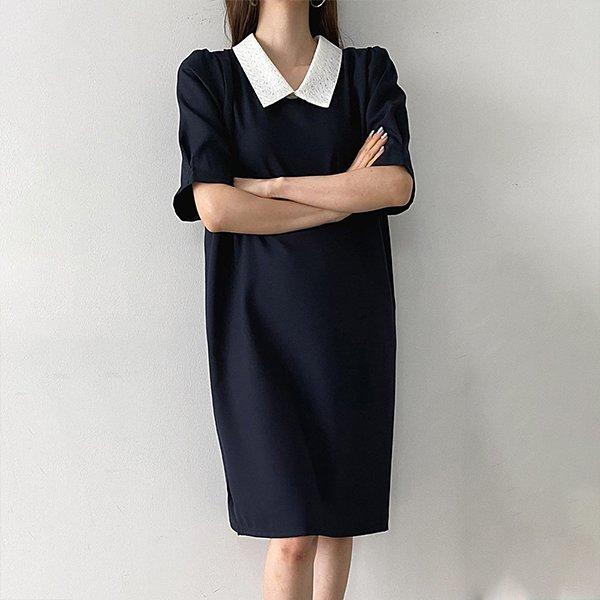 104 러브펀칭레이스원피스 DBSE143 도매 배송대행 미시옷 임부복