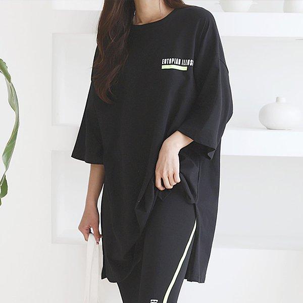 105 유니크일루전롱박스티 DPOE269 도매 배송대행 미시옷 임부복
