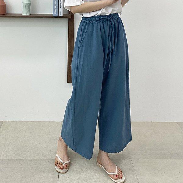 106 샐리와이드마끈통바지 DZYE283 도매 배송대행 미시옷 임부복