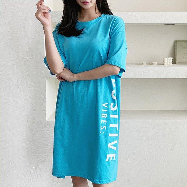 106 바이브미디반팔원피스 DNOE360 도매 배송대행 미시옷 임부복