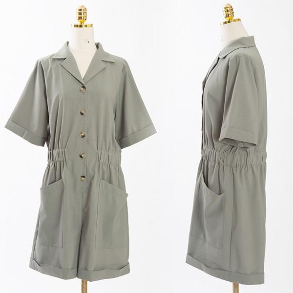 빅사이즈 107 무지셔링썸머점프슈트 DCME467 도매 배송대행 미시옷 임부복