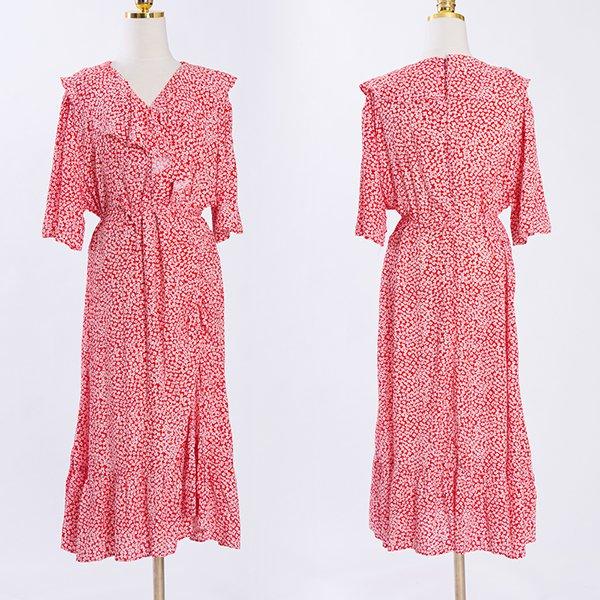 빅사이즈 107 러블리셔링라인원피스 DCME469 도매 배송대행 미시옷 임부복