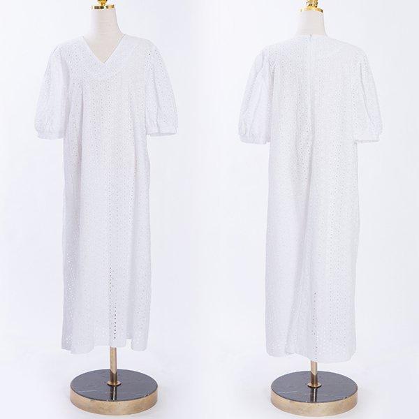 빅사이즈 107 은은한레이스롱원피스 DCME471 도매 배송대행 미시옷 임부복
