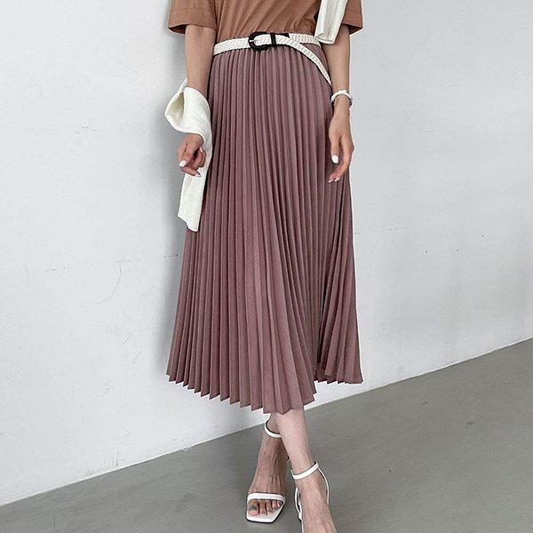 108 밴딩롱플리츠핏스커트 DEZE598 도매 배송대행 미시옷 임부복
