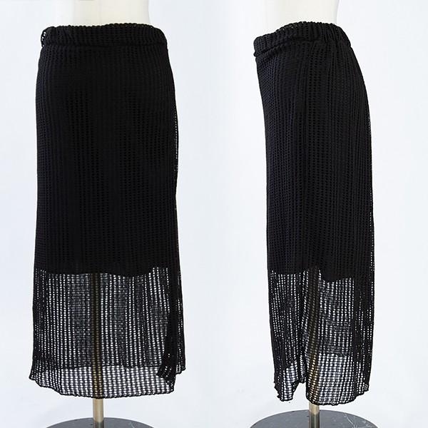 108 베이직시스루롱스커트 DCME610 도매 배송대행 미시옷 임부복