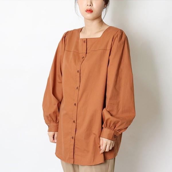 109 데일리스퀘어블라우스 DHGE698 도매 배송대행 미시옷 임부복