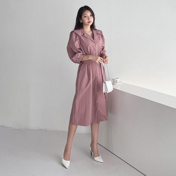 109 세라스트링미디원피스 DBNE705 도매 배송대행 미시옷 임부복
