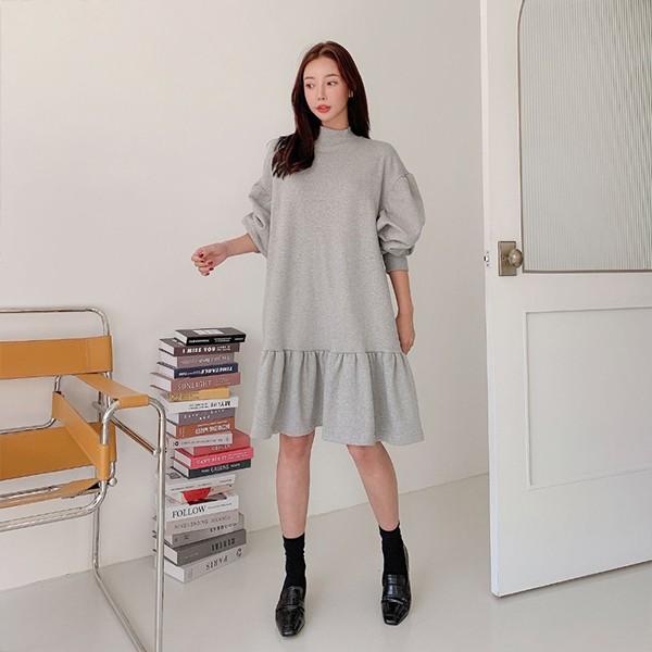 109 데일리셔링미디원피스 DSFE711 도매 배송대행 미시옷 임부복