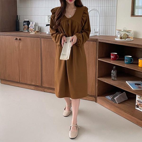 109 여리핏셔링프릴원피스 DILE716 도매 배송대행 미시옷 임부복