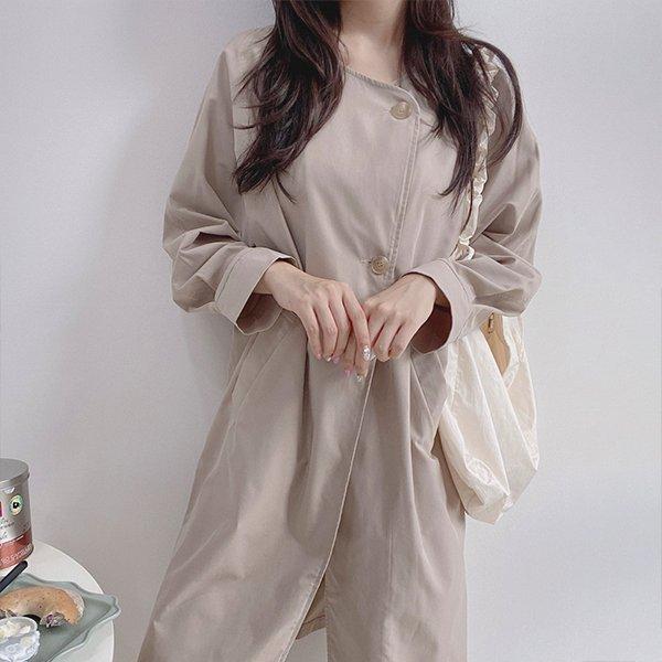 109 노카라버튼사파리자켓 DTME746 도매 배송대행 미시옷 임부복