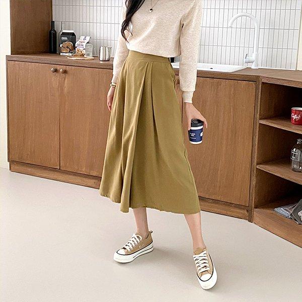 109 밴딩오버롱랩치마바지 DBQE760 도매 배송대행 미시옷 임부복