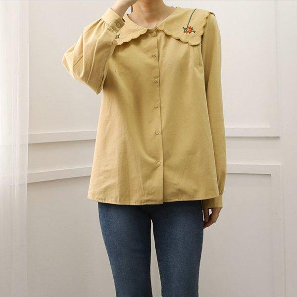 109 러블리세라롱블라우스 DWBE788 도매 배송대행 미시옷 임부복