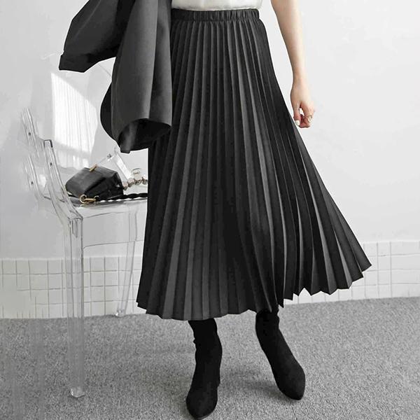 110 베이직플리츠롱스커트 DEZE794 도매 배송대행 미시옷 임부복