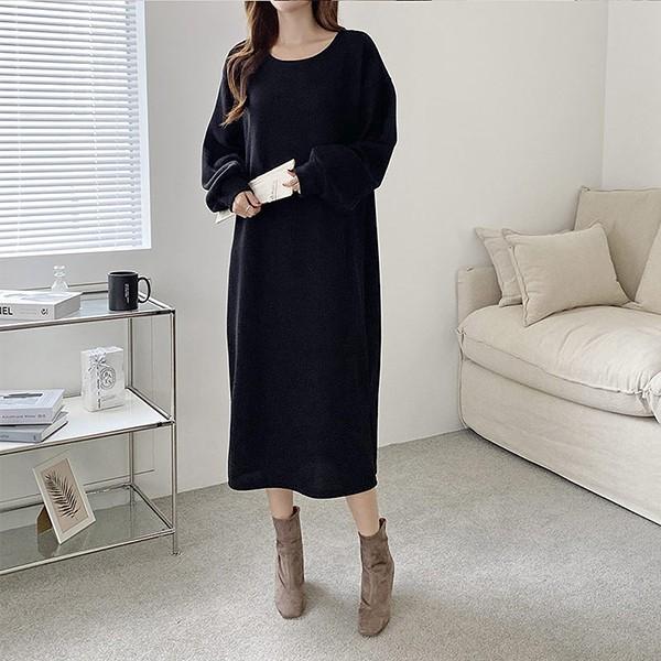 110 데일리라운드롱원피스 DGRE808 도매 배송대행 미시옷 임부복