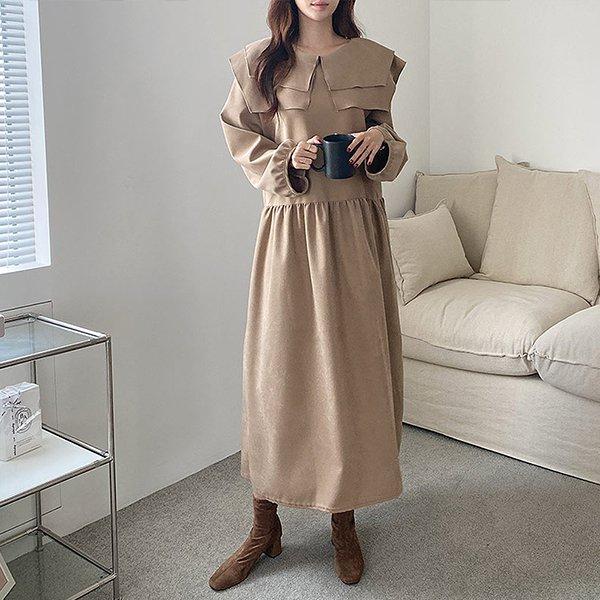 110 러블리스퀘어롱원피스 DGRE809 도매 배송대행 미시옷 임부복