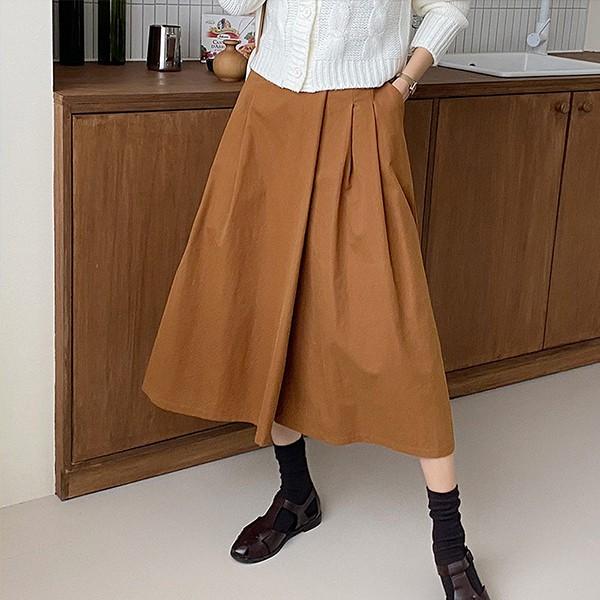 110 심플와이드롱치마바지 DBQE825 도매 배송대행 미시옷 임부복