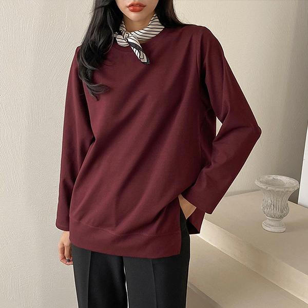 110 페미닌언발코튼티셔츠 DBQE826 도매 배송대행 미시옷 임부복