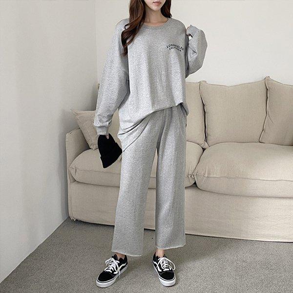 110 코튼루즈핏데일리세트 DADE830 도매 배송대행 미시옷 임부복
