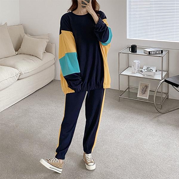 110 루즈가오리데일리세트 DADE831 도매 배송대행 미시옷 임부복