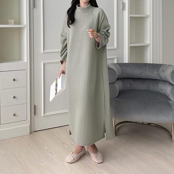110 여리트임골지롱원피스 DGRE846 도매 배송대행 미시옷 임부복