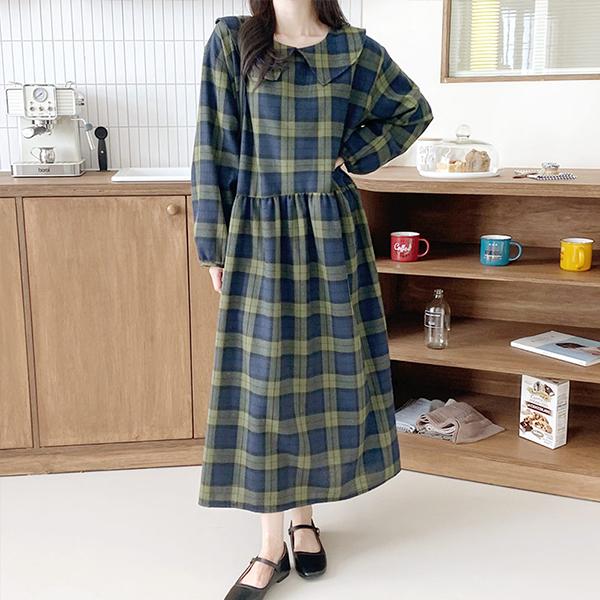 110 러블리세라패턴원피스 DGRE847 도매 배송대행 미시옷 임부복