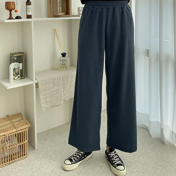110 스판골지와이드핏팬츠 DZYE874 도매 배송대행 미시옷 임부복