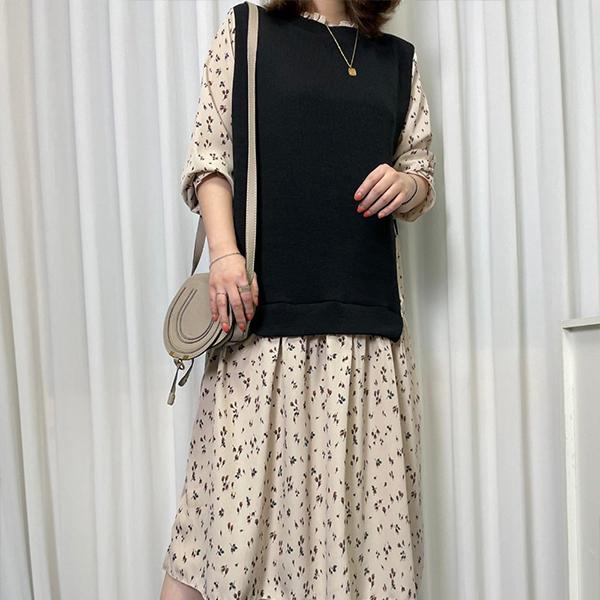 110 러블리플라워롱원피스 DBSE876 도매 배송대행 미시옷 임부복